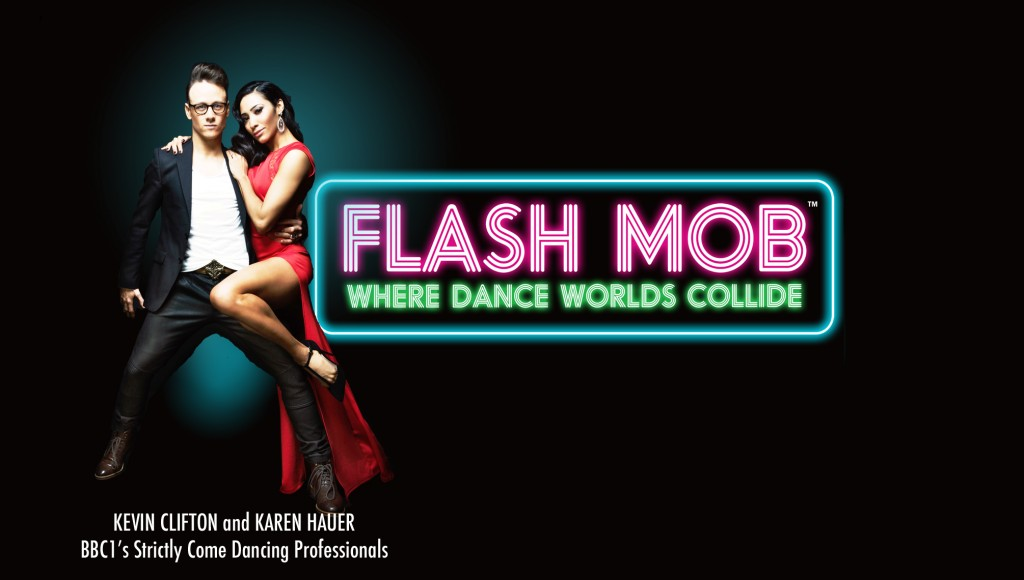 Kevin Clifton and Karen Hauer Star in Flash Mob